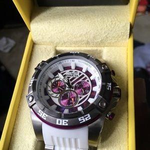 Invicta Accessories - Price firm White purple and silver invicta watch